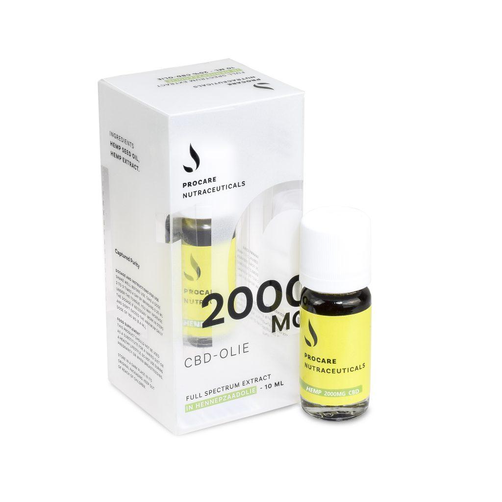 CBD oil 2000 mg, Full spectrum
